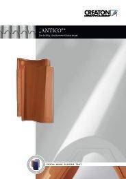 """ANTICO®"" - Creaton AG"