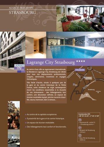 Lagrange City Strasbourg - Vacances Lagrange