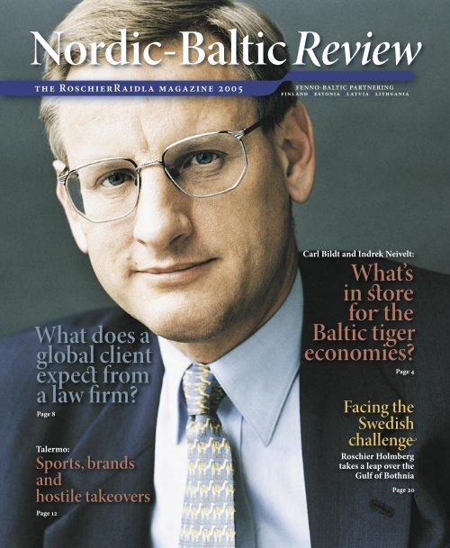 Nordic-Baltic Review - NORCOUS Academia