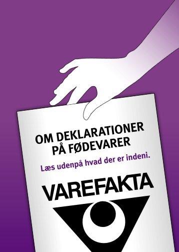 Læs udenpå – hvad der er indeni - Dansk Varefakta Nævn