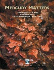 Mercury Matters - Hubbard Brook Research Foundation