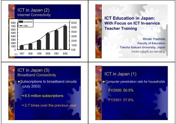 ICT Education in Japan