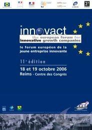 Télécharger la plaquette Innovact - Bretagne Innovation