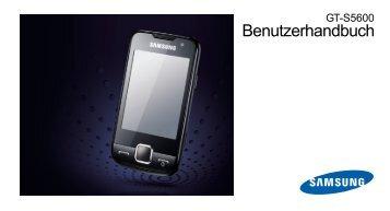 Samsung-S5600-Bedienungsanleitung.pdf ... - Fonmarkt.de