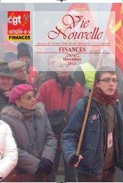 Vie nouvelle UFR Numero 4:vnf4.qxd - CGT Finances