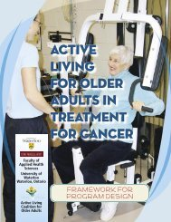 exercise manual_MOVE.indd - Active Living Coalition for Older Adults