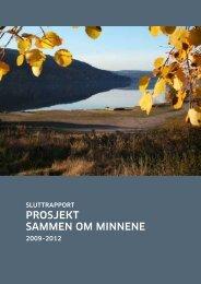 proSjekt Sammen om minnene - Halden kommune