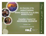uranium - Canadian Council for Aboriginal Business