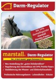 und Elektrolythaushalts Prebiotische Nahrungsfasern ... -  Marstall