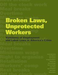 Broken Laws, Unprotected Workers - UCLA Center for Labor ...