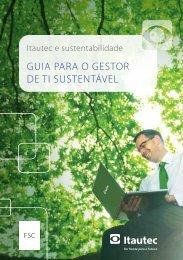 Itautec e Sustentabilidade - Guia para o Gestor de TI Sustentável
