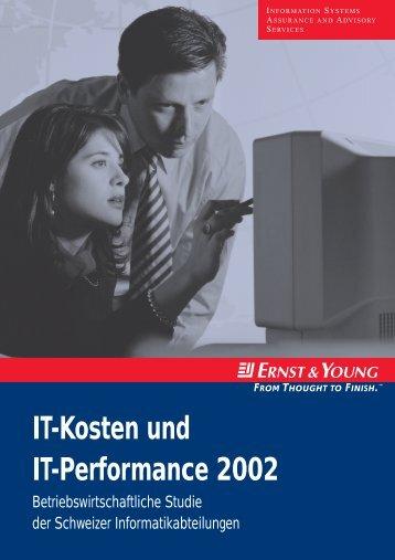 IT-Kosten und IT-Performance 2002 - Schweiz