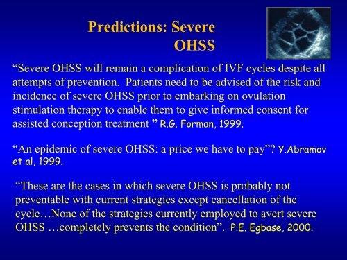Does GnRHa triggering completely abolish OHSS? - eshre