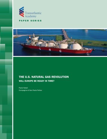 THE U.S. NATURAL GAS REVOLUTION - Transatlantic Academy