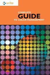 Guide to Color Management - ColorMunki