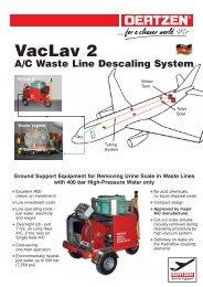 VacLav 2 A/C Waste Line Descaling System - von Oertzen GmbH