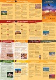 Explorers Way Touring Route brochure - South Australia