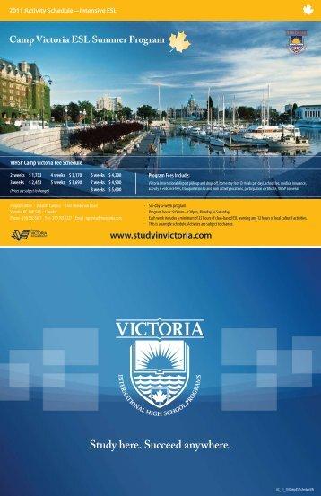 Study here. Succeed anywhere. - Victoria International High School
