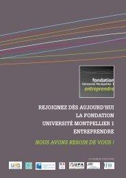 Plaquette - Fondation Entreprendre