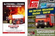 Feuerwehr Magazin 02/09 - von Oertzen GmbH