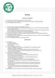 Satzung (PDF 72 KB) - Golf-Club Coburg e.V. Schloss Tambach