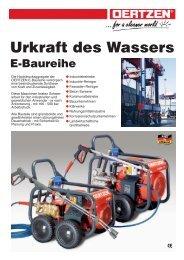 Urkraft des Wassers, E-Baur. (Page 1) - von Oertzen GmbH