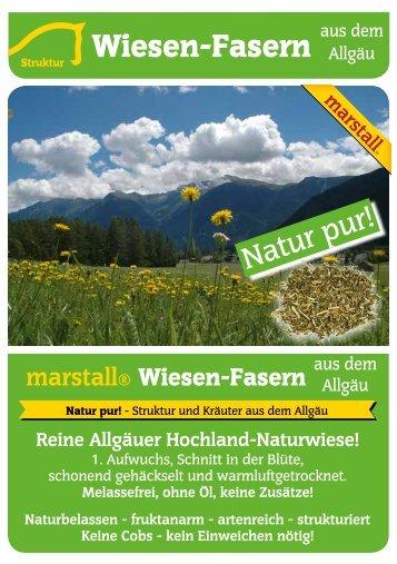 Wiesen-Fasern - Marstall