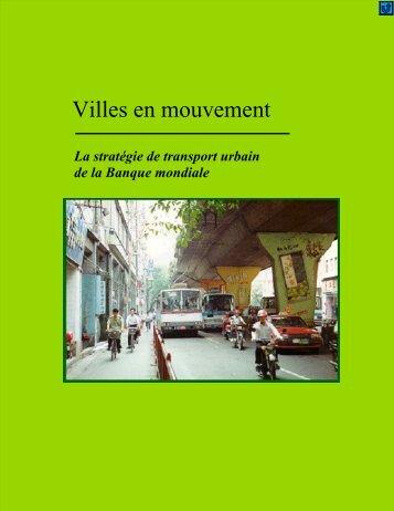 Villes en mouvement