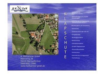 K L A P S C H U T E - H. Mailhammer GmbH