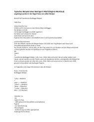 Typisches Beispiel einer Betrüger E-Mail (Original ... - Starke Pfoten