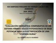 resultados - Asociación Peruana de Energía Solar y del Ambiente