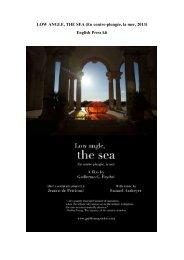LOW ANGLE, THE SEA (En contre-plongée, la mer, 2013) English ...