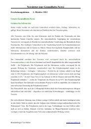 Newsletter (nur Gesundheits-News) - Tee-online