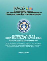 CNMI Self Assessment and Jurisdiction Plan - PAC6
