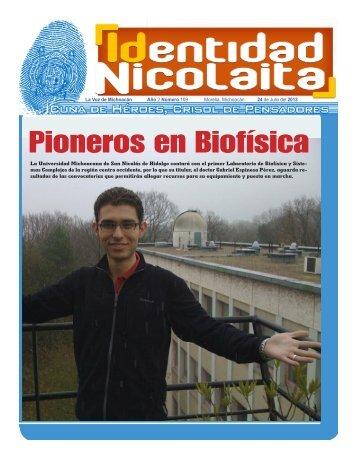 Pioneros en Biofísica - Coordinación de la Investigación Científica