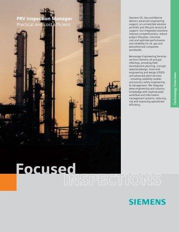 INSPECTIONS Focused - Siemens