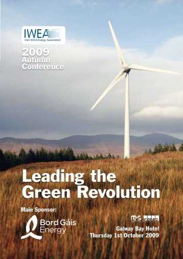 Download Conference Programme - Irish Wind Energy Association