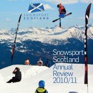 Snowsport Scotland Annual Review 2010/11
