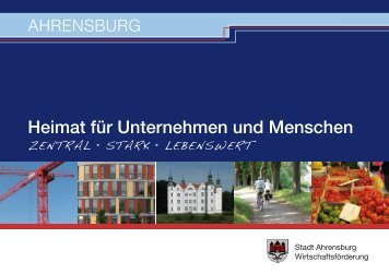 AHRENSBURG Heimat für Unternehmen und Menschen - Die ...