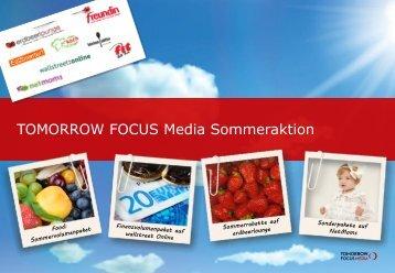 Doppelte Laufzeit - Tomorrow Focus Media