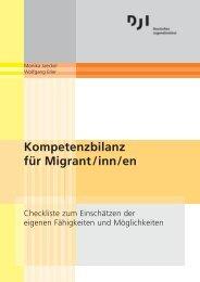 Kompetenzbilanz für Migrant/inn/en - Deutsches Jugendinstitut e.V.