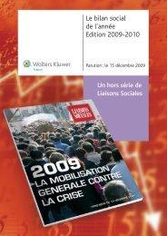 Le bilan social de l'année Edition 2009-2010 - Wk-rh