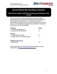 Second World War Handling Collection - RAF Museum