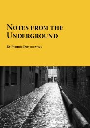 Notes from the Underground - Planet eBook