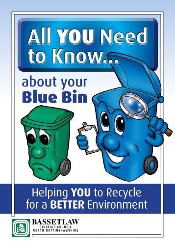 Blue Bin Leaflet