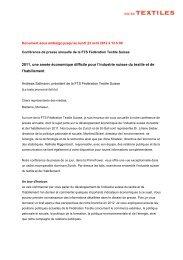 2011, une année économique difficile pour l'industrie suisse du ...