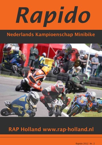 RAPIDO 2012 Nr. 2 - RAP-Holland