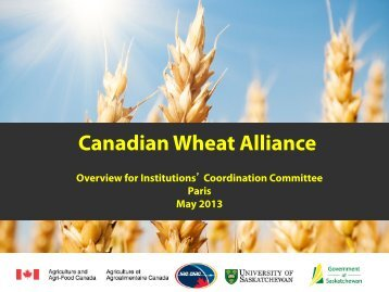 Presentation 6 (PDF 1.6MB) - Wheat Initiative