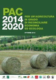 per un'agricoltura in grado di riconciliare economia ed ecologia - Lipu