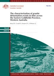 The characterisation of granite deformation events in time across the ...